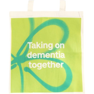 Taking on dementia together tote bag